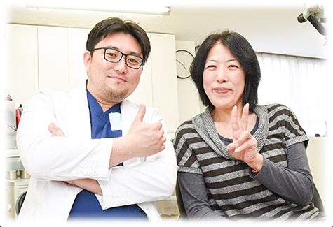 患者とドクター